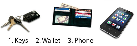 Keys Wallet Phone